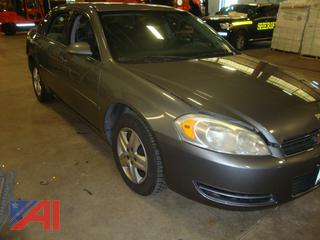(#1729) 2007 Chevy Impala LS 4 Door Sedan