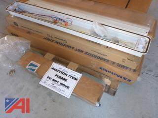 (#1733) Vaportite T5 Fluorescent Light Bars, New/Old Stock