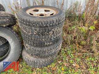 (#100) Various Used Tires