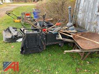 (#101) Various Used Landscaping Equipment and Tools