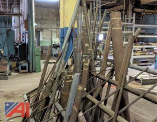 Assorted Metal Pipe & Bars