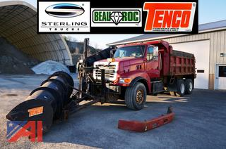2002 Sterling LT-9500 Dump Truck with Plow