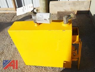 Hydraulic Oil Yellow Tank