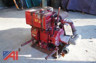 "Gorman Rupp 2 1/2"" Portable Pump"