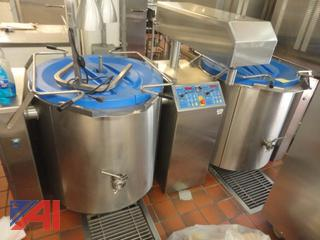 Alto Shaam Stainless Steel Dual Steam Kettles