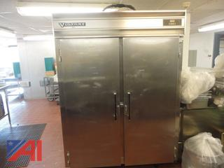 Victory Raetone Stainless Steel Freezer