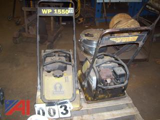 Wacker WP1550 Plate Compactors