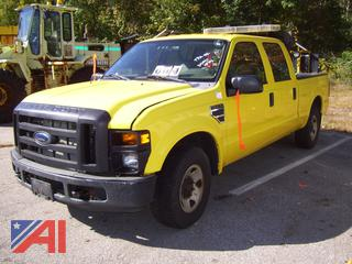 2008 Ford F350 Super Duty Pickup Truck