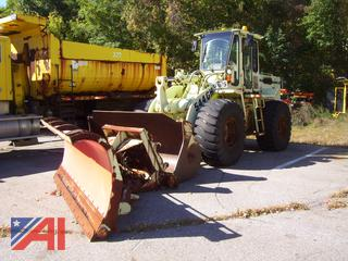 1994 John Deere 544GH Loader with Plow