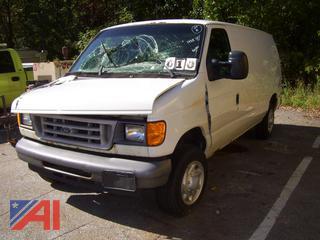 2007 Ford E150 Van