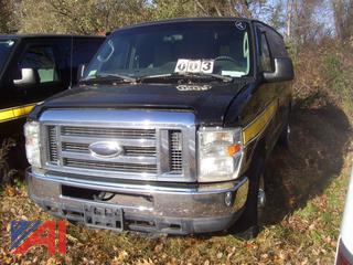 2011 Ford E350 Extended Super Duty Van