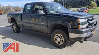 2006 Chevy Silverado 2500HD Extended Cab Pickup Truck
