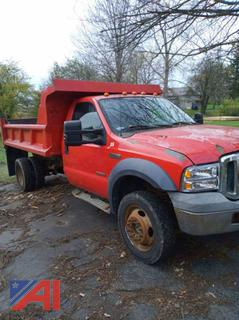 2007 Ford F450 Super Duty Dump Truck