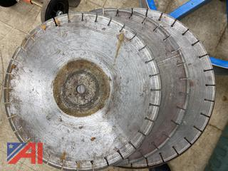 "18"" Diamond & Masonry Blades"