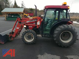 2005 Case IH JX1070C-LX232 Tractor with Bucket