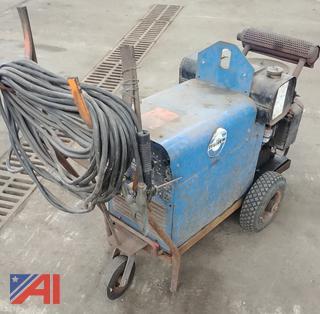 (#4) Miller AEAD-200LE Welder Generator