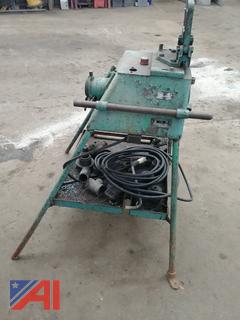 (#5) Pipe Threading Station