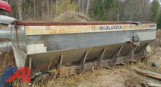 (#14) 16' Highland Stainless Steel Sander