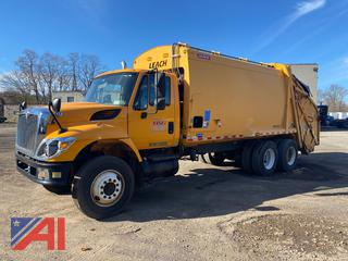 2008 International 740 Garbage Truck