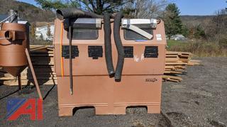 Zero Sand Blast Cabinet & Hopper