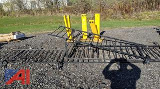 Assorted Iron Railings & Speed Bumps