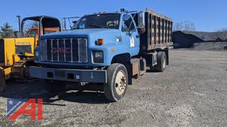 *Lot Updated* 1994 GMC C6 Stake Rack Dump Truck
