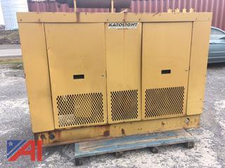 KatoLight 65 kw Natural Gas Generator