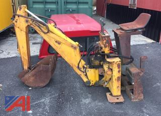 Case D100 Backhoe Skid Steer Attachment