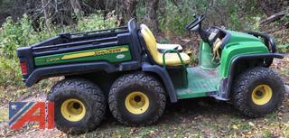 John Deere Gator 4 x 6 with Electric Dump Bed