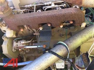 Dismantled Air Compressor with John Deere 2630F Motor and Air Compressor Parts