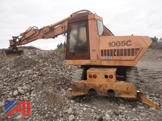 1992 Case 1085C Cruz Air Wheel Excavator