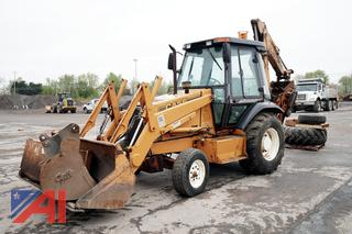 1995 Case 580L Backhoe with Accessories