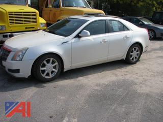 2008 Cadillac CTS 4 Door Sedan