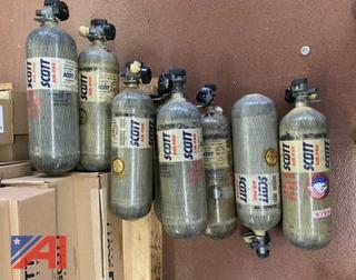 Retired Scott Air Pack Bottles