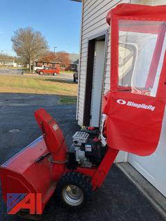 """2008 Simplicity 38"""" Snowblower with Cab"""