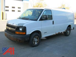2005 Chevy Express Van