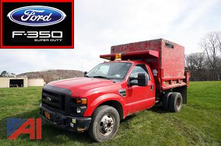 2009 Ford F350 XL Super Duty Dump Truck