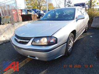 (#5183) 2005 Chevy Impala 4 Door Sedan