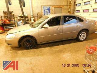 (#5528) 2006 Chevy Impala 4 Door/Police Vehicle