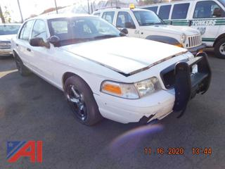 (#5772) 2011 Ford Crown Victoria 4 Door/Police Interceptor