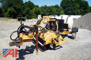 Sweepter H84C4PNY Hydraulic Broom Tank and Spreader