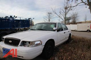 2009 Ford Crown Victoria 4 Door Sedan