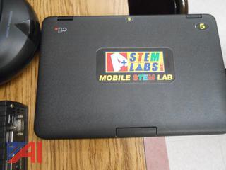 Mobile Stem Lab Mini Laptops, Polycom System and iPad Cabinet