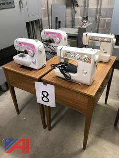 Brother Sewing Machines with Tables