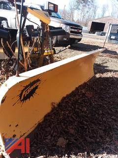 (#5) 7 1/2' Fisher Minute Mount 2 Storm Guard Plow
