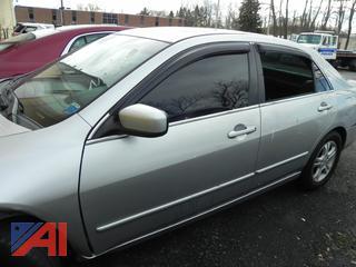 (#6) 2007 Honda Accord 4 Door Sedan