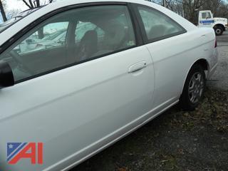 (#8) 2002 Honda Civic LX 4