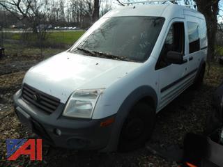 (#18) 2010 Ford Transit Connect XL Van
