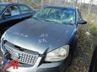 (#23) UPDATE: No Key 2005 Nissan Altima 4 Door Sedan