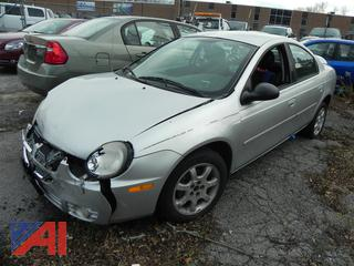 (#10) 2003 Dodge Neon 4 Door Sedan